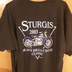 Classic 2003 Sturgis T shirt Mens size XXL